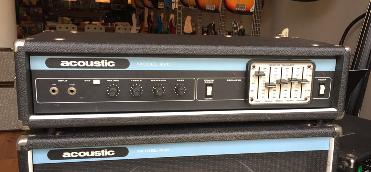 Acoustic - 220 Amp used