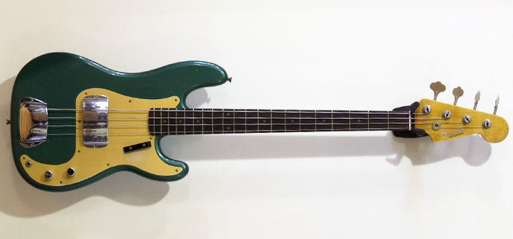Fender - 59 P Journeyman Relic Sherwood Green Metallic