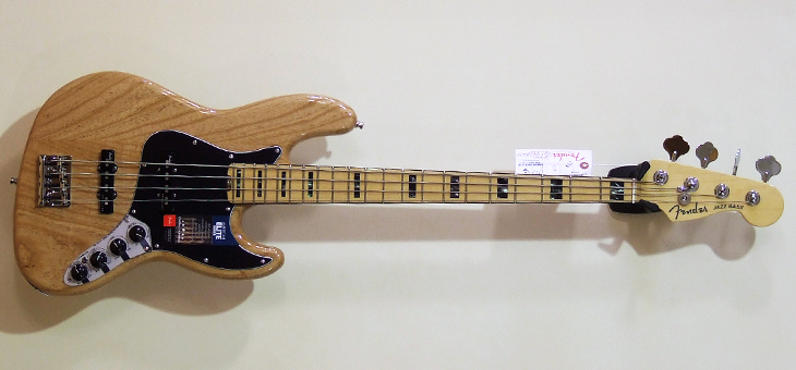 Fender - American Elite Jazz Bass Ash