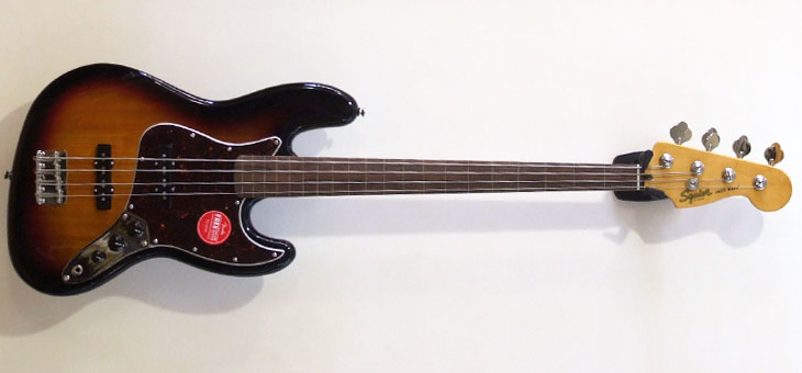 Fender - Squier CV 60's Jazz Fretless