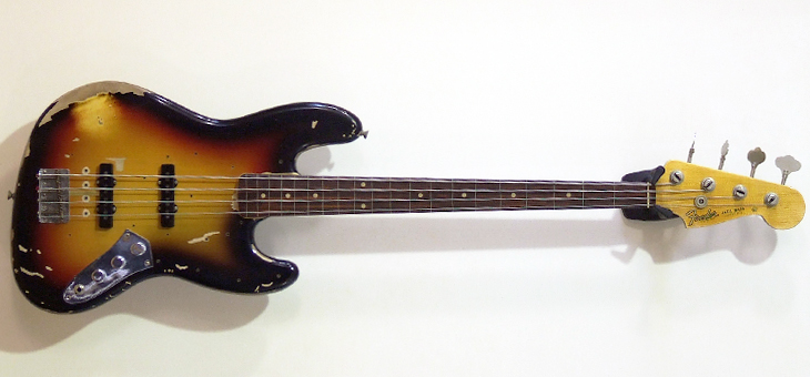 Fender - Pastorius Tribute Relic Jazz used