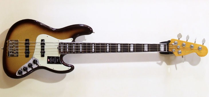 Fender - Ultra Jazz V Mocha Burst